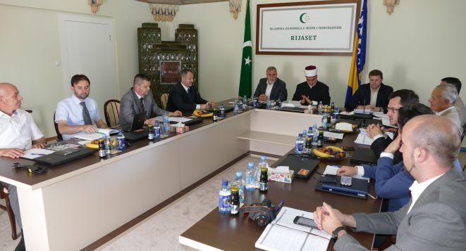 Održana 36. redovna sjednica Rijaseta Islamske zajednice u Bosni i Hercegovini.