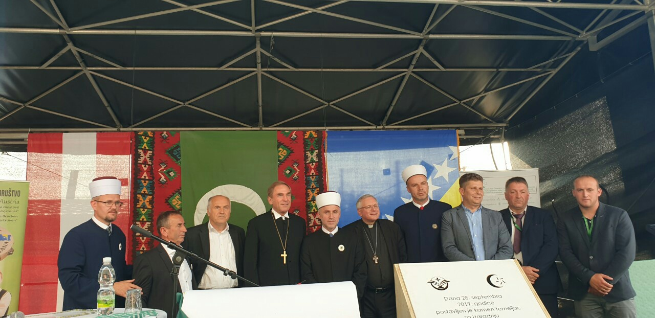 Polozen Kamen Temeljac Za Islamski Centar U Klagenfurtu