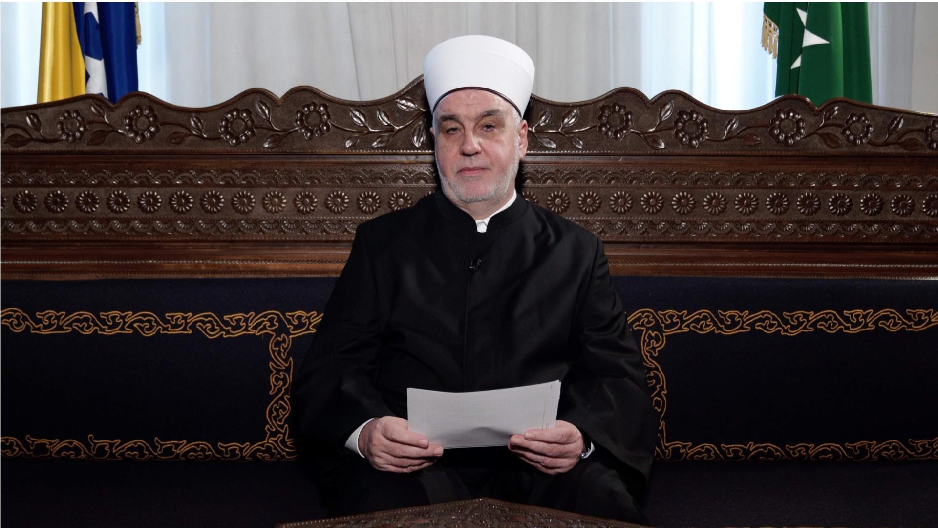 Bajramska poruka Reisu-l-uleme: Udružimo se da dobro i mir nadvladaju našim društvom