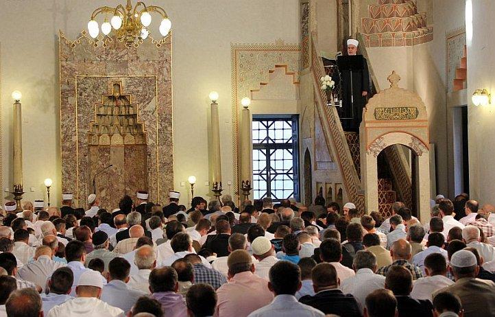 blusrcu.ba-Bajramska hutba Reisu-l-uleme u Gazi Husrev-begovoj džamiji
