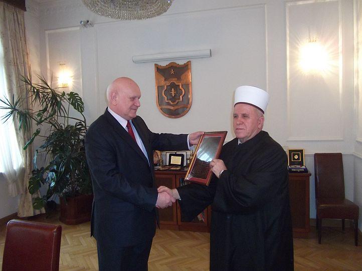blusrcu.ba-Muftija banjalučki kod gradonačelnika Banja Luke