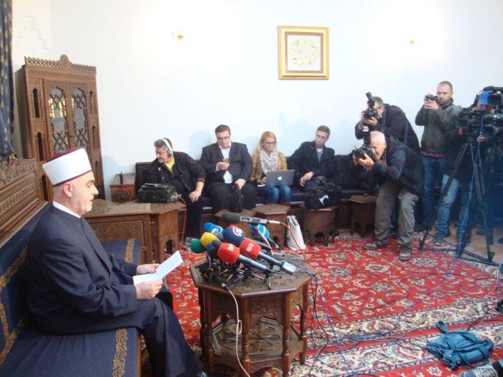 blusrcu.ba-Bajramska čestitka Reisu-l-uleme Huseina ef. Kavazovića