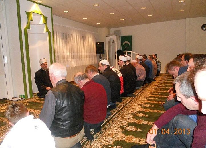 muslimansko druženje s Švedskom